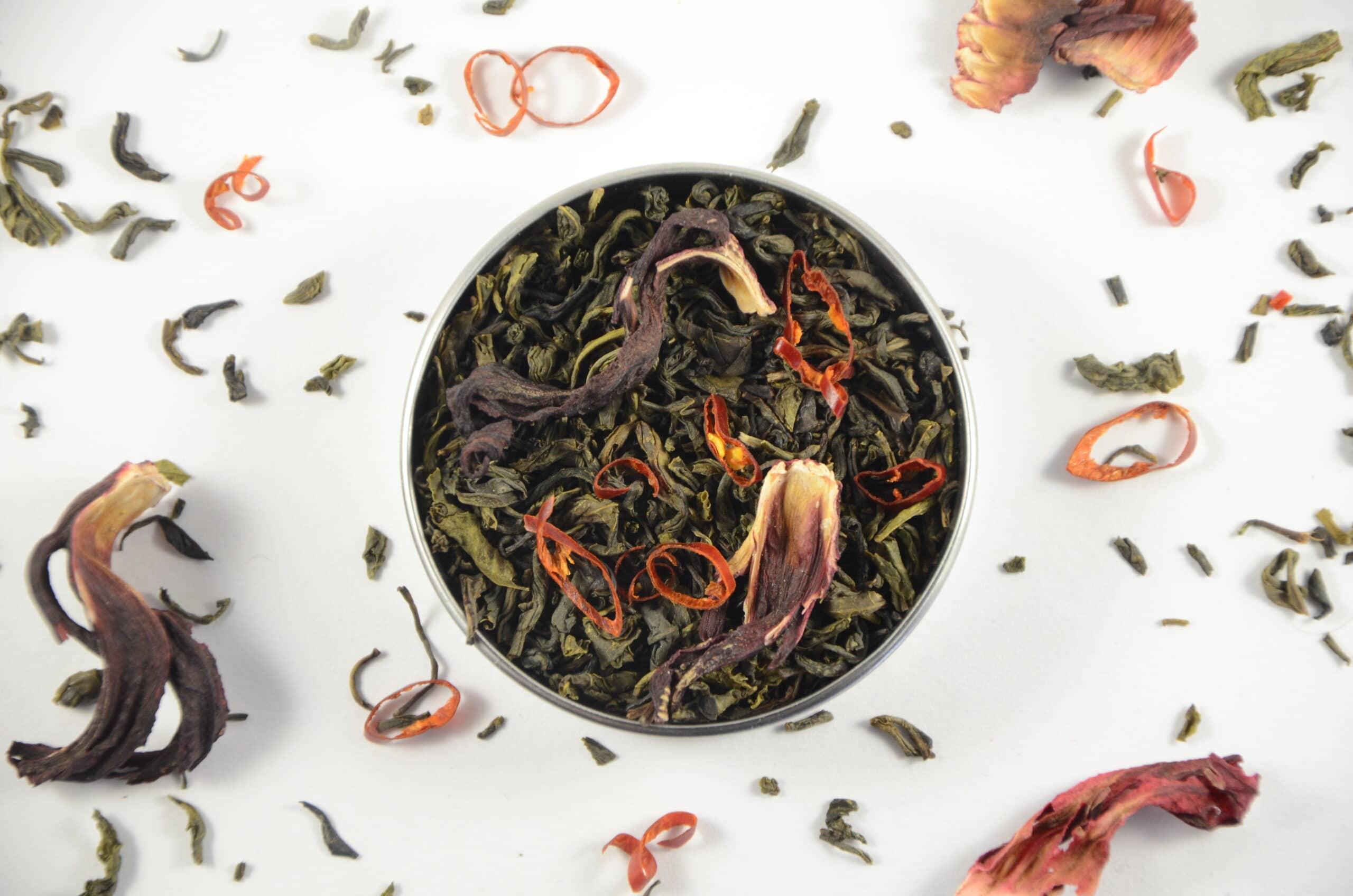 combinaties van theesmaken