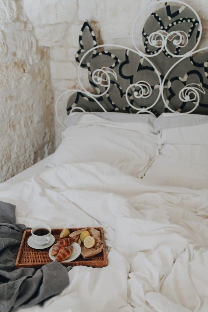 ontbijt op bed