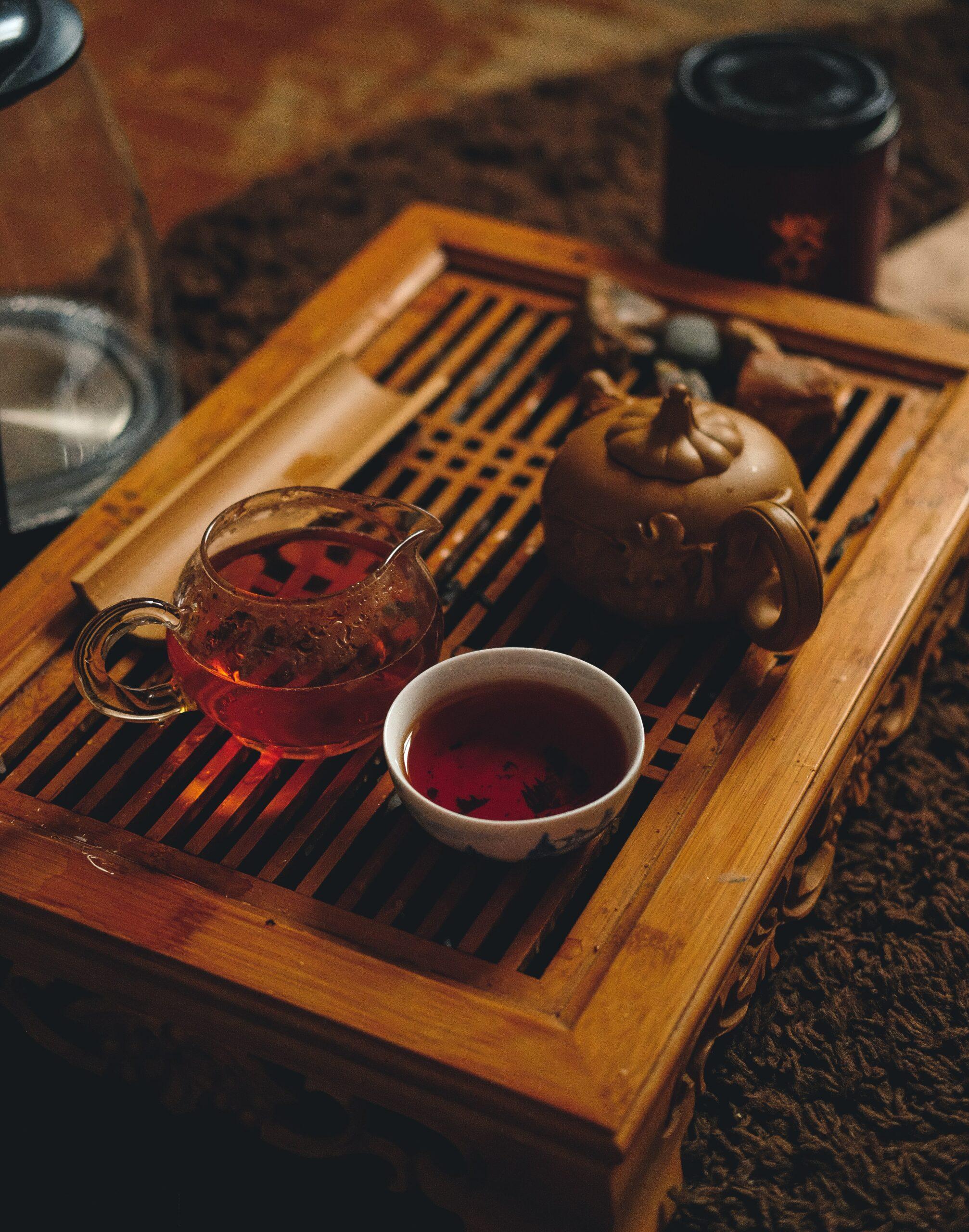 Chinese gunpowder tea
